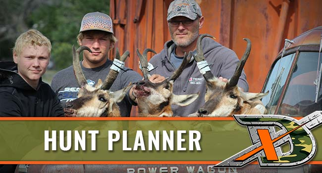 Xtreme Dream Outfitters  Hunt Planner