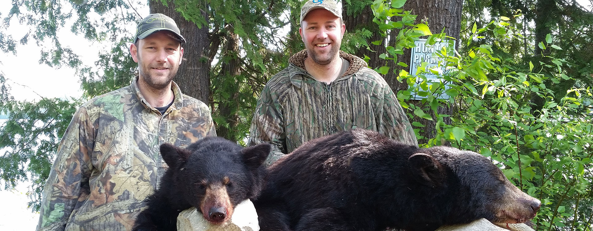 Remote Quebec Bear Hunting